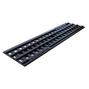 Решетка водоприемная Basic РВ-10.14.50 ячеистая пластиковая (20801)