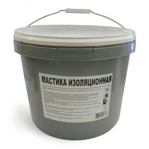 Мастика битумная изоляционная (ХимТоргПроект) (10 л / пэ)