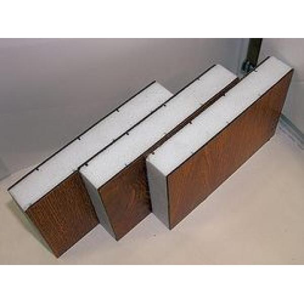 Стеновые трехслойные сэндвич-панели с наполнителем из экструдированного пенополистирола (длина от 2 до 14 м)