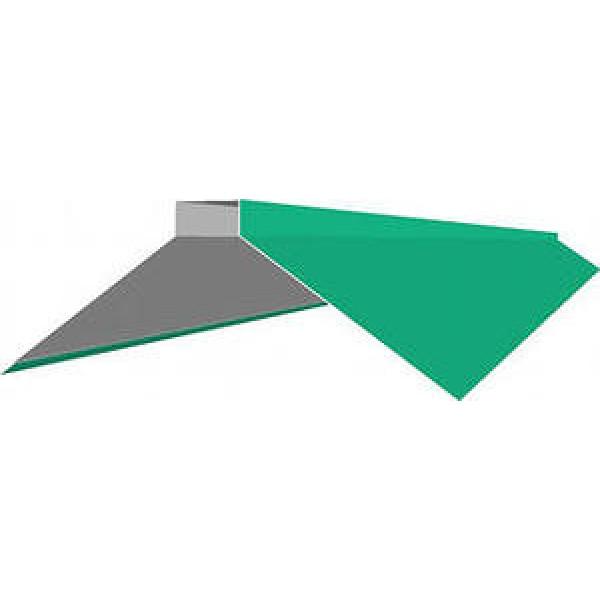 Планка конька плоского для металлочерепицы 150х150х2000 (ПЭ - 6005 - ОН)