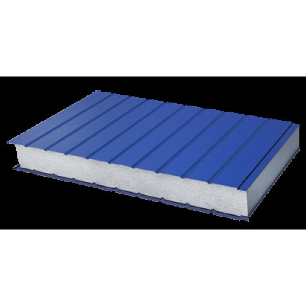 Стеновые трехслойные сэндвич-панели с наполнителем из пенополистирола (длина от 2 до 14 м)