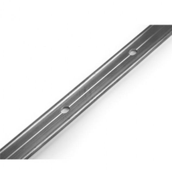 Планка (рейка) прижимная алюминиевая для кровли