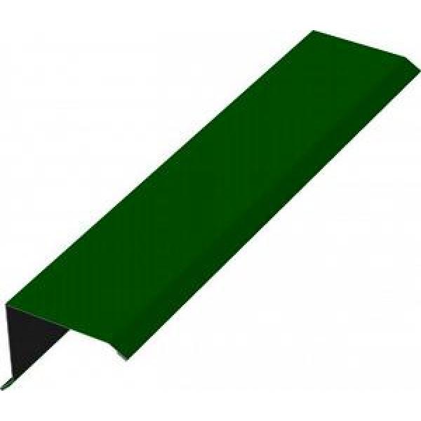 Планка торцевая для металлочерепицы 90х115х2000 (ПЭ-6005-ОН)