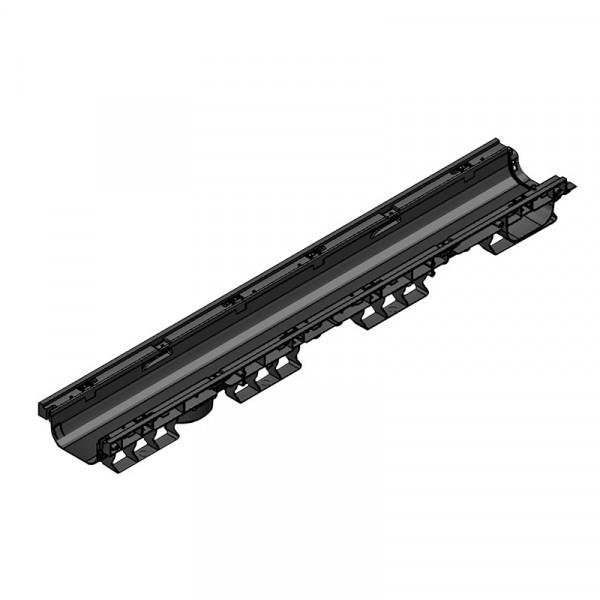 Лоток водоотводный PolyMax Basic ЛВ-10.16.08-ПП пластиковый (8010-М)