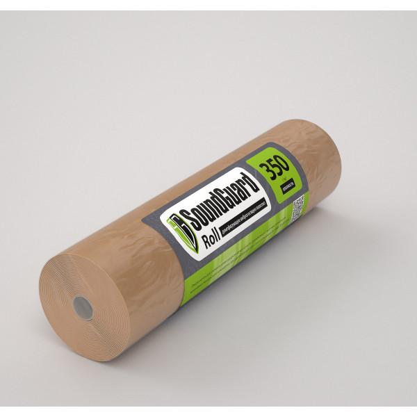 Подложка демпферная SoundGuard Roll -  1 м, толщина 3,5 мм (15 м2 в уп)
