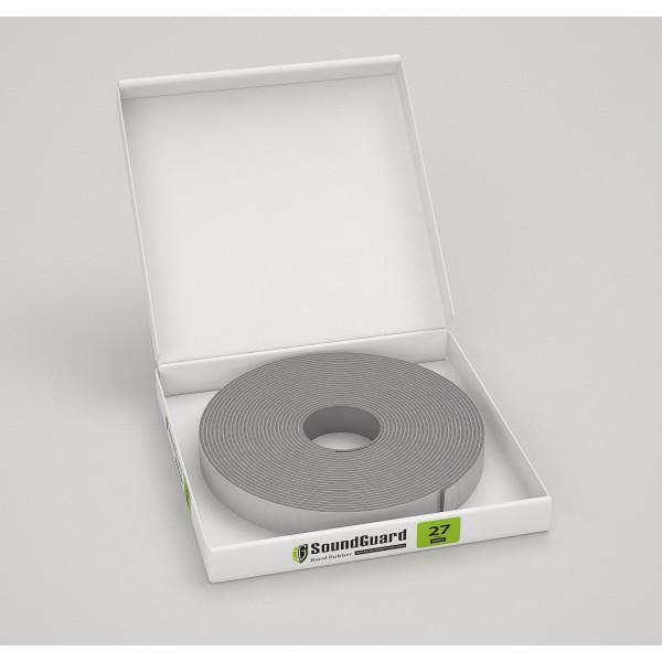 Демпферная виброгасящая лента SoundGuard ВиброЛента 27  х 4 мм (12 м.п/рул.)