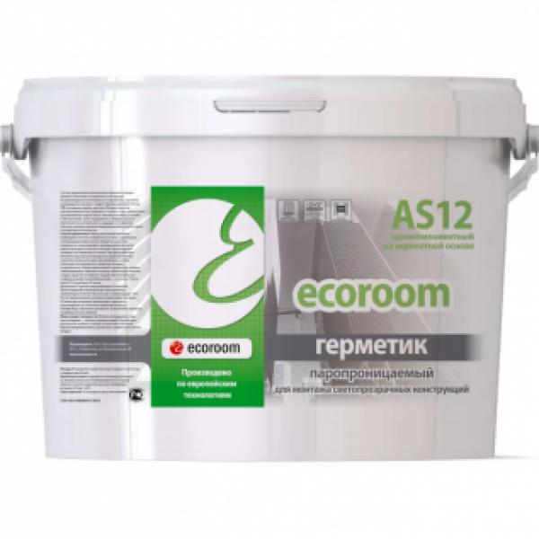 Герметик Ecoroom AS 12 акриловый паропроницаемый