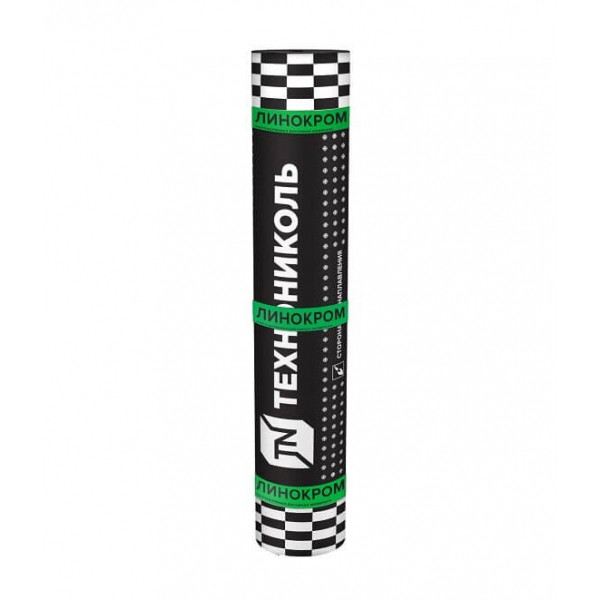 Линокром ХКП сланец серый (10м2 в рул)