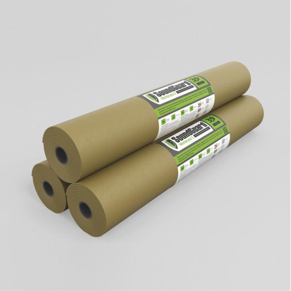 SoundGuard Membrane 3.9 S  2500х1200х3,9 мм (3 м2 в рул) - Звукоизоляционная мембрана самоклеящаяся