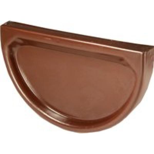 Заглушка  желоба D185 (RR32 коричневая)