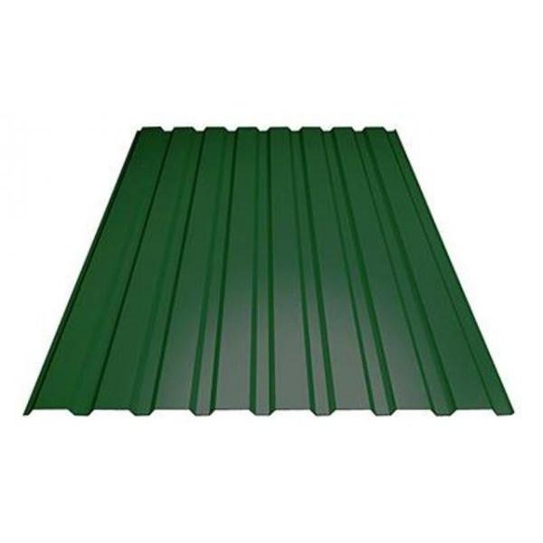 Профилированный лист МП-20 (ПЭ - 6005 - 0,45 - 1,15* длина 2м)