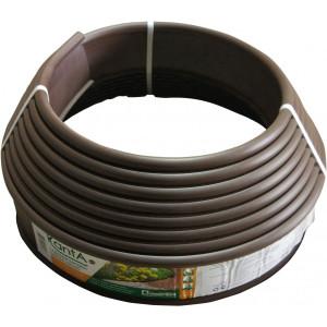 Бордюр KANTA SP Б-1000.10.02-ПП пластиковый коричневый (82552-К)