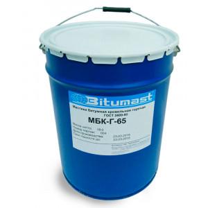 Мастика битумная кровельная горячего применения МБК Г (ГОСТ 2889-80) - (27 кг)