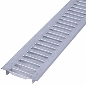Решетка водоприемная Basic РВ-10.14.100- стальная оцинкованная щелевая (2010)