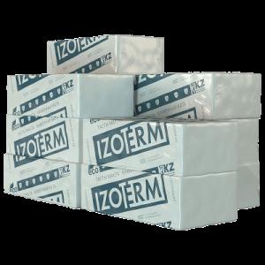 Мин.плита  IZOTERM П125 1000х600х50мм (8шт/0,24м3 уп)