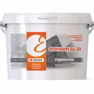 Герметик Ecoroom PU 20 двухкомпонентный полиуретановый