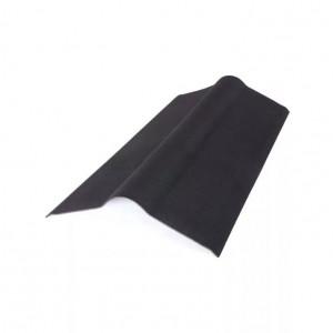 Конек для ондулина сланец (черный) (0,5м*1м)
