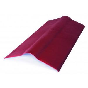 Конек для ондулина красный(0,5м*1м)