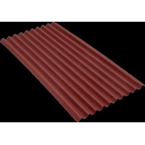 Ондулин Smart красный (1 лист)