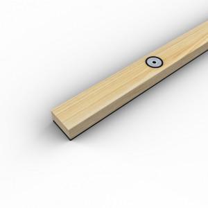 Рейка деревянная SoundGuard ВиброЛайнер 1525х47 т.24 мм