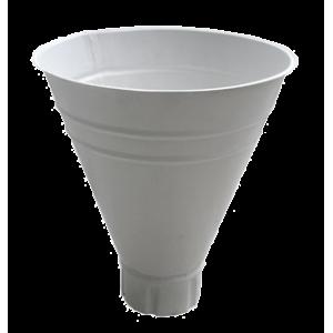 Воронка водосборная  D100/300 (RAL9010 белый)