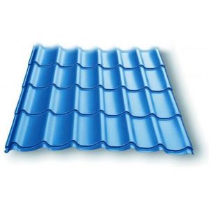 Металлочерепица Супермонтеррей 0,4мм RAL 5005(синий) м2