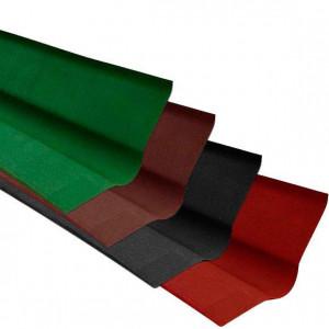 Ендова для ондулина сланец (черная) (0,5м*1м)